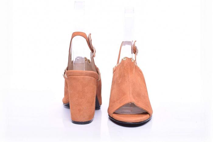 Sandale dama cu toc gros 3