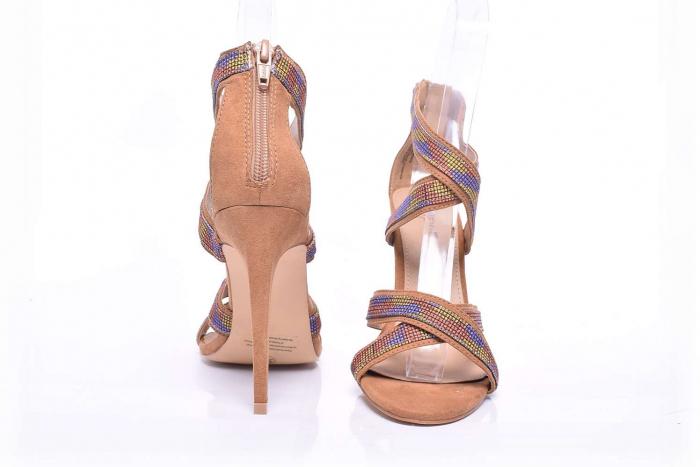 Sandale dama cu toc subtire [3]