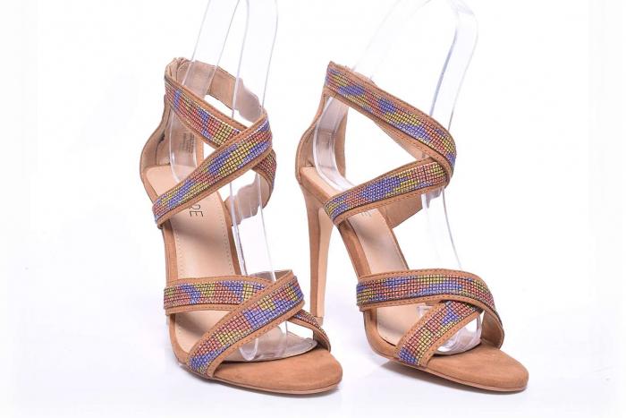 Sandale dama cu toc subtire [2]