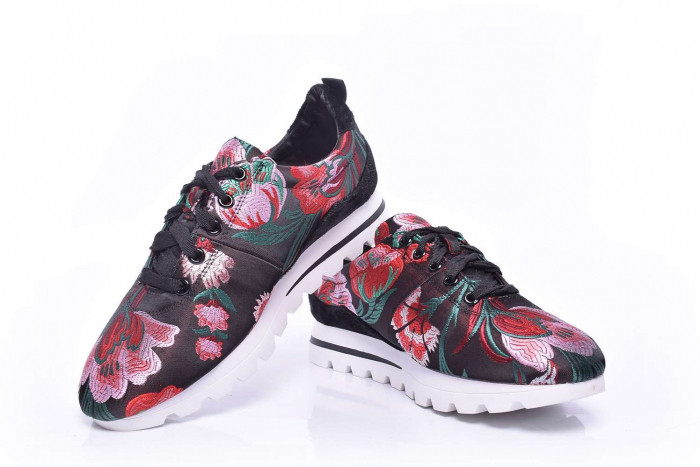 Tenisi dama model floral [3]