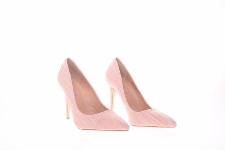 Pantofi stiletto dama, roz4