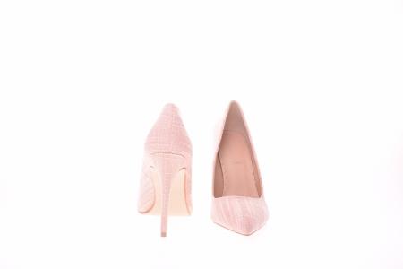 Pantofi stiletto dama, roz1