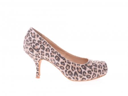 Pantofi dama leopard0