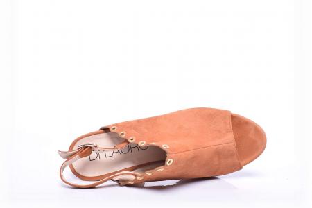 Sandale dama cu toc gros5