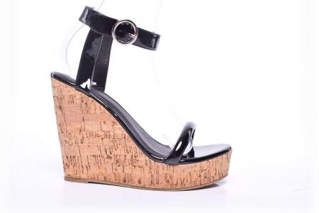 Sandale dama cu toc gros [0]