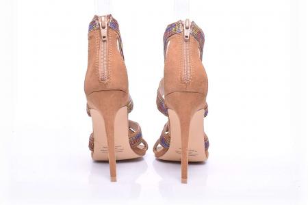 Sandale dama cu toc subtire [4]