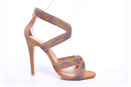 Sandale dama cu toc subtire [0]
