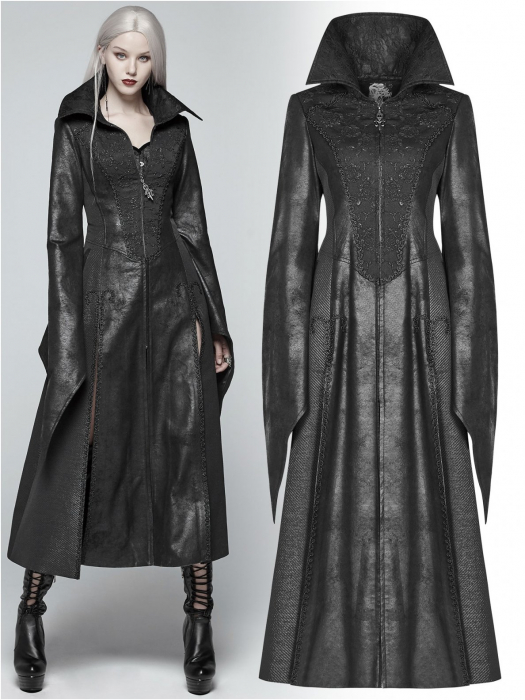 Black Dragonfly coat WY-984/BK Punk Rave 0