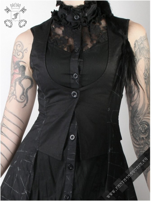 Black Dragonfly dress Q-072 Punk Rave 2