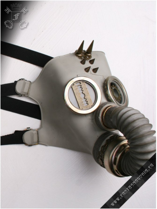 Catacomb Gas Mask harness 1