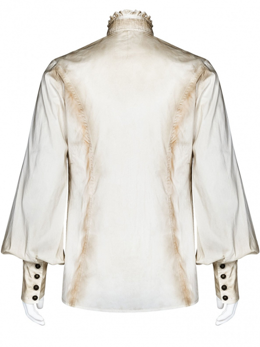 Charon shirt in white WY-1029/WH Punk Rave 1
