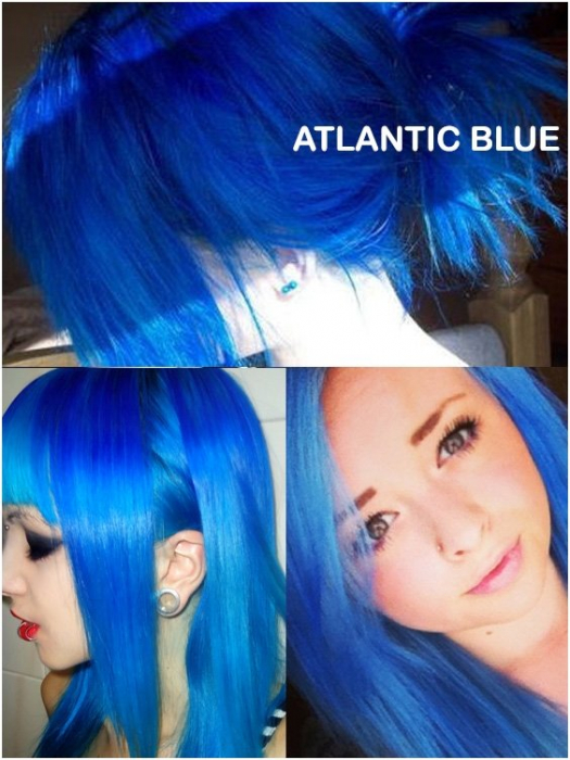 Coloring hair balsam - Atlantic blue 1