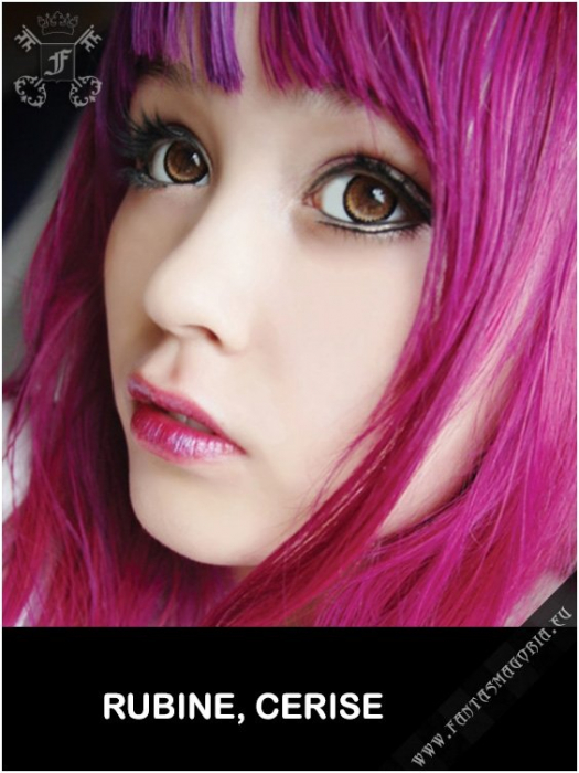 Coloring hair balsam - Cerise pink 1