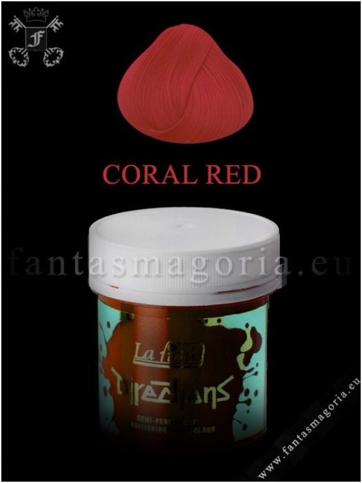 Coloring hair balsam - Coral Red 0