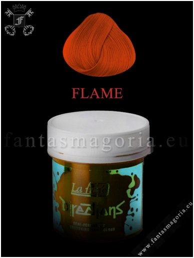 Coloring hair balsam - Flame Red 0