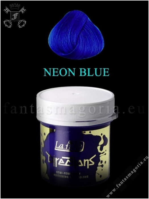 Coloring hair balsam - Neon blue 0