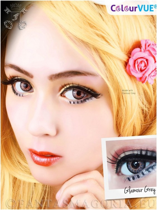 Glamour contact lenses pair 1
