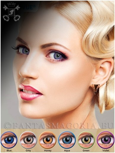 Glamour contact lenses pair 0