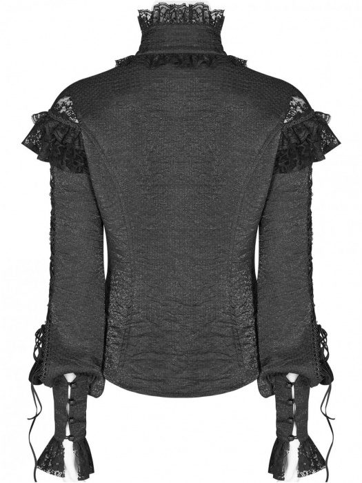 Gothic Butterfly shirt WLY-088-BK Punk Rave 2