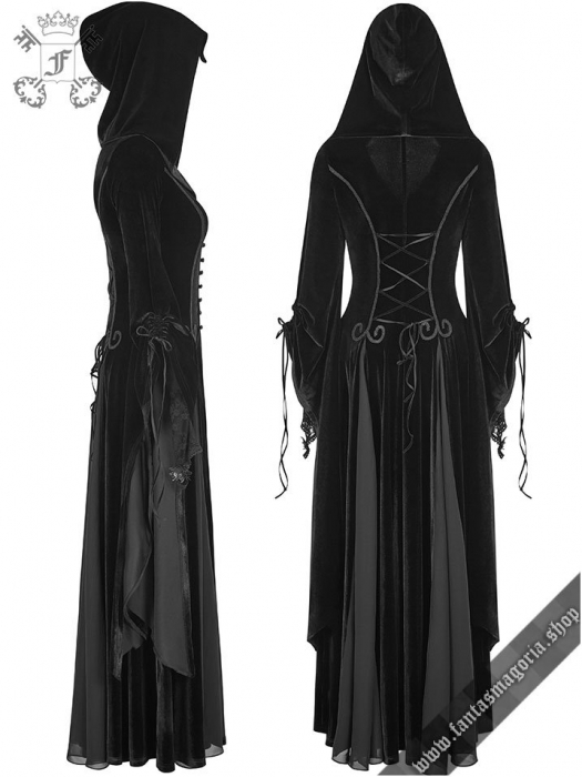 Lady De La Morte coat Y-797BK Punk Rave 2