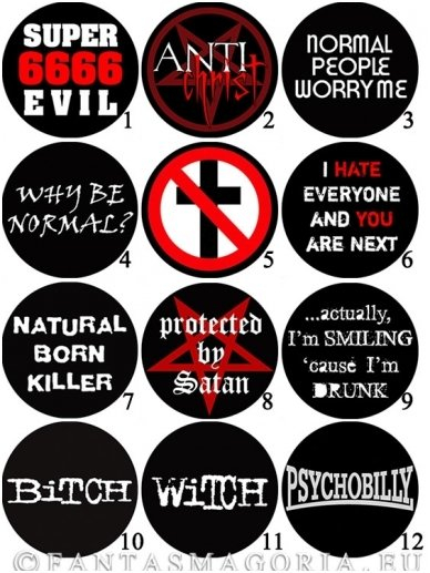 Large pinback buttons 0