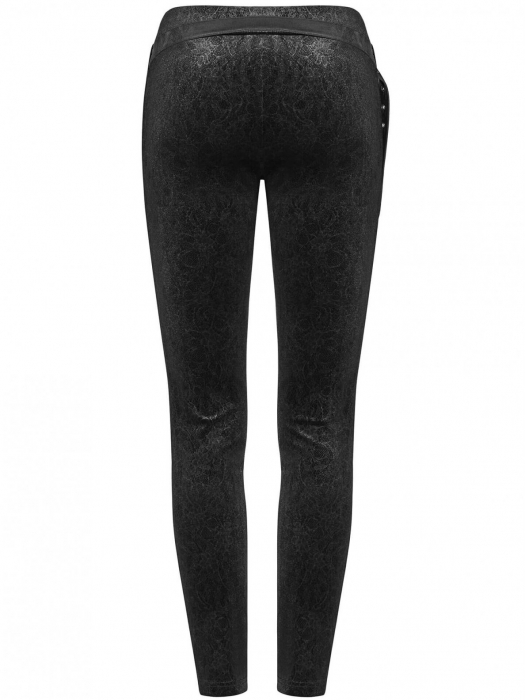 Maeve black trousers WK-374-BK Punk Rave 2