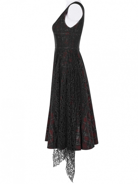 Misanthrope black/red dress WQ-457/BK-RD Punk Rave 1