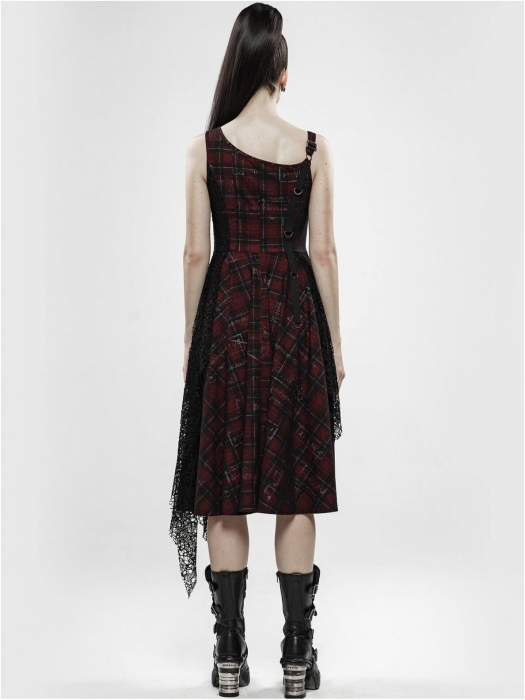 Misanthrope black/red dress WQ-457/BK-RD Punk Rave 2