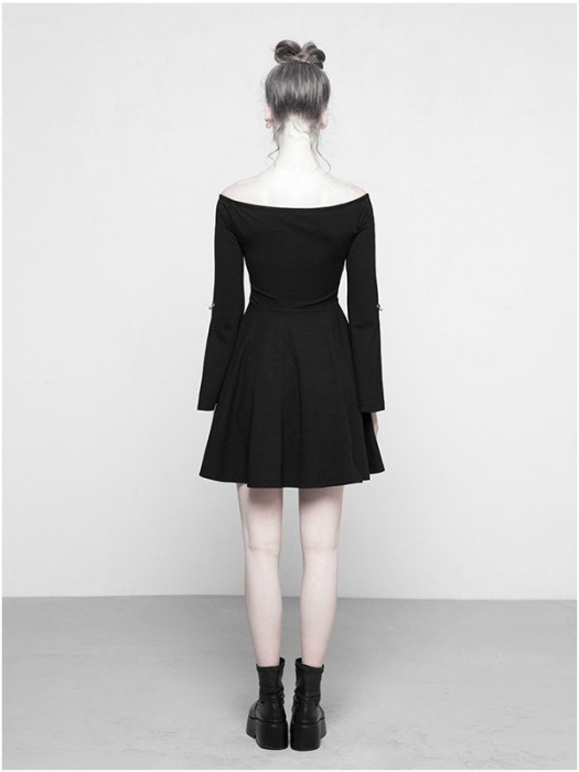 MoonGirl dress OPQ-326/BK Punk Rave 1