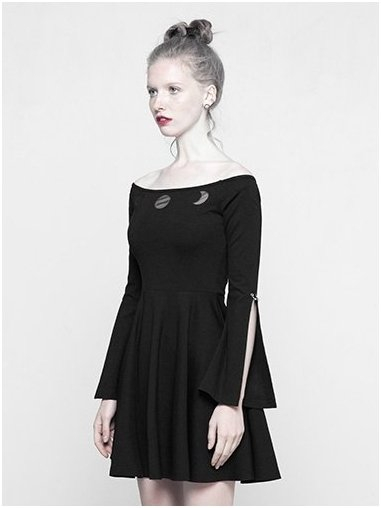 MoonGirl dress OPQ-326/BK Punk Rave 0