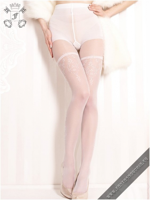 Nemesis white tights 0
