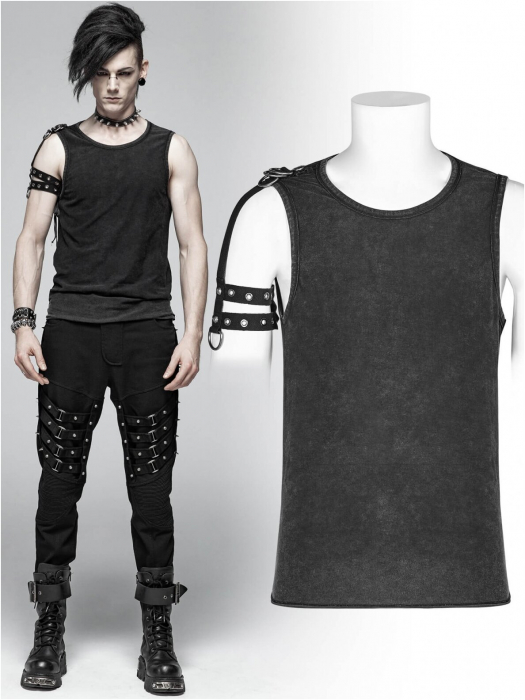 Orkus t-shirt Punk Rave men's WT-558-BK 0