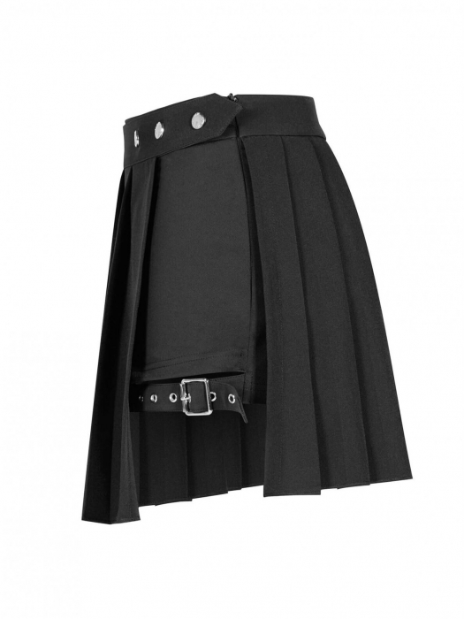 Satori shorts with over-skirt OPQ-467/BK Punk Rave 1