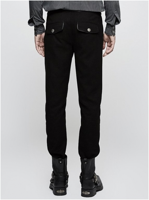 Taurus trousers K-303BK Punk Rave 1