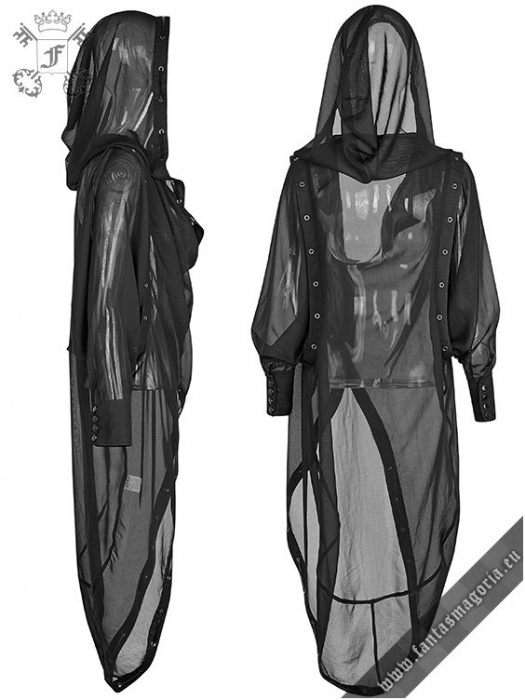 The Ghost cape top PY-187BK Punk Rave 1