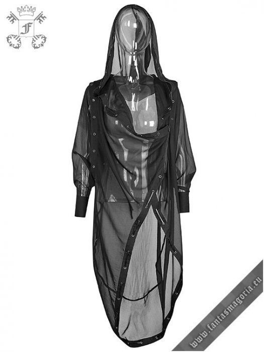 The Ghost cape top PY-187BK Punk Rave 0