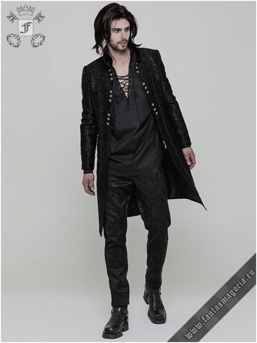 Valter Gothic men's jacket WY-850/BK Punk Rave 1