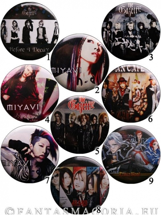 XLarge pinback buttons 0