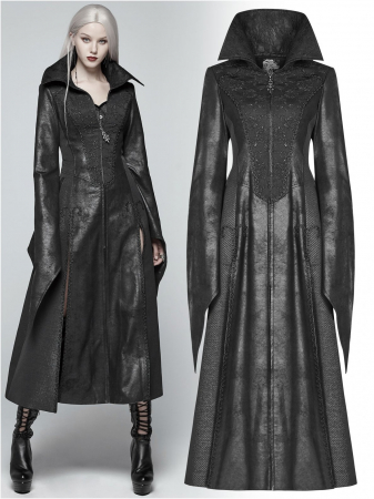 Black Dragonfly coat WY-984/BK Punk Rave0