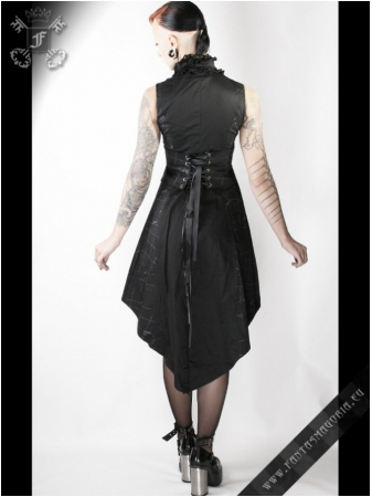 Black Dragonfly dress Q-072 Punk Rave1