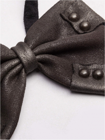 Charon brown bow tie WS-315-CO Punk Rave2