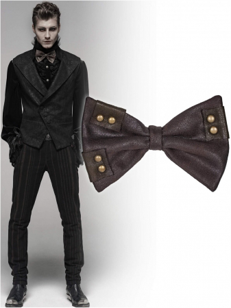 Charon brown bow tie WS-315-CO Punk Rave0
