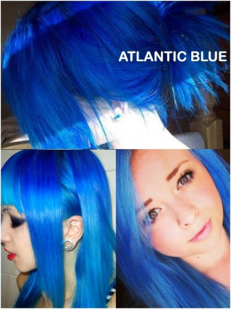Coloring hair balsam - Atlantic blue1
