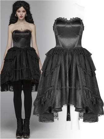Gothic Butterfly dress WLQ-092-BK Punk Rave0