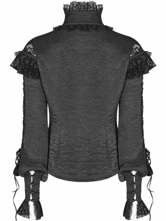 Gothic Butterfly shirt WLY-088-BK Punk Rave2