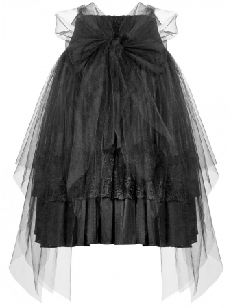 Gothic Butterfly skirt WLQ-091-BK Punk Rave2