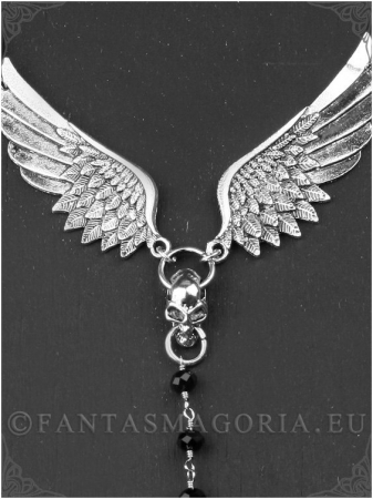 Icarus Ankh rosary pendant2