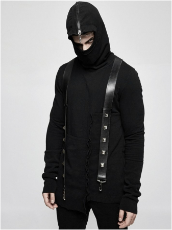Katana sweater Y-680MENS Punk Rave1