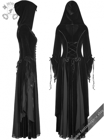 Lady De La Morte coat Y-797BK Punk Rave2