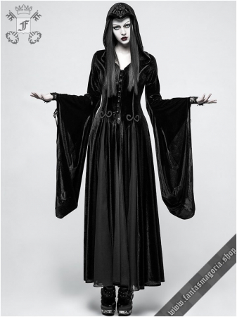 Lady De La Morte coat Y-797BK Punk Rave1